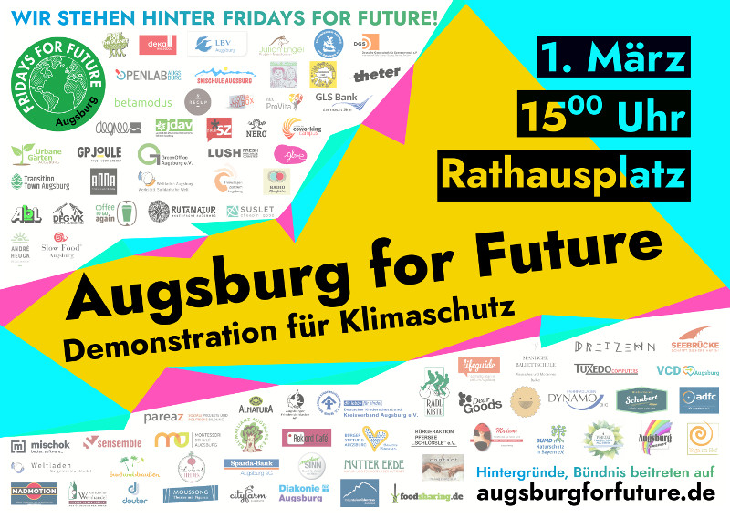 Sharepic Demo 01.03. 15:00 Rathausplatz